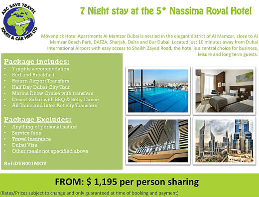 Dubai 7 nights package