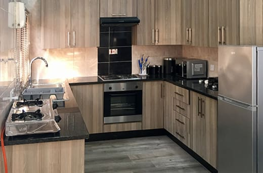 Each apartment has modern, stylish finishes and a fitted kitchen