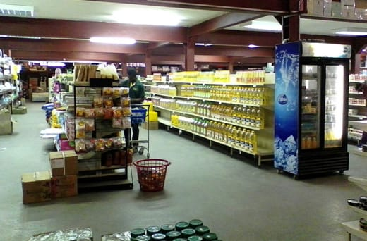 Food and Groceries - Various products from well known brand names