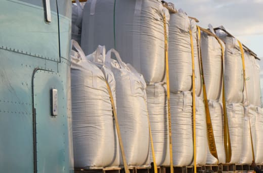 Transports bulk cargo, high security cargo and cargo with additional time sensitivity