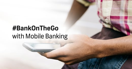 Bank on the go with FNB's Mobile Banking