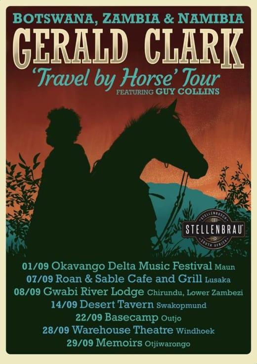 "Gerald Clark ""Travel by Horse"" Tour"