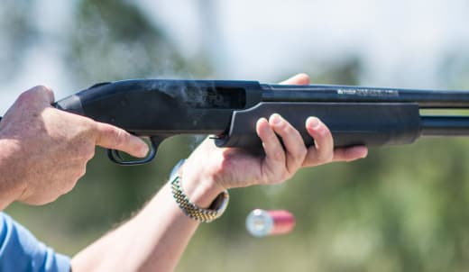 First time users get acquainted to their new firearms