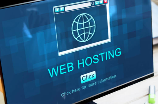 Email and web hosting service