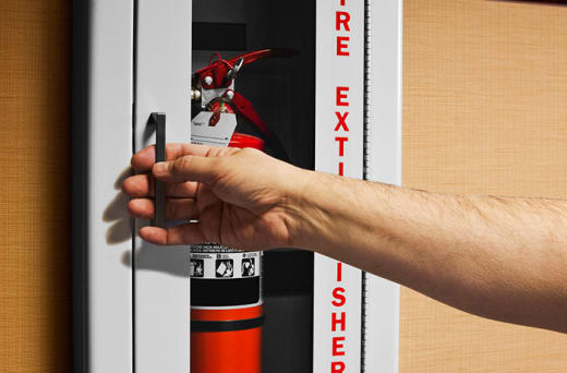 Fire protection equipment inspection and maintenance
