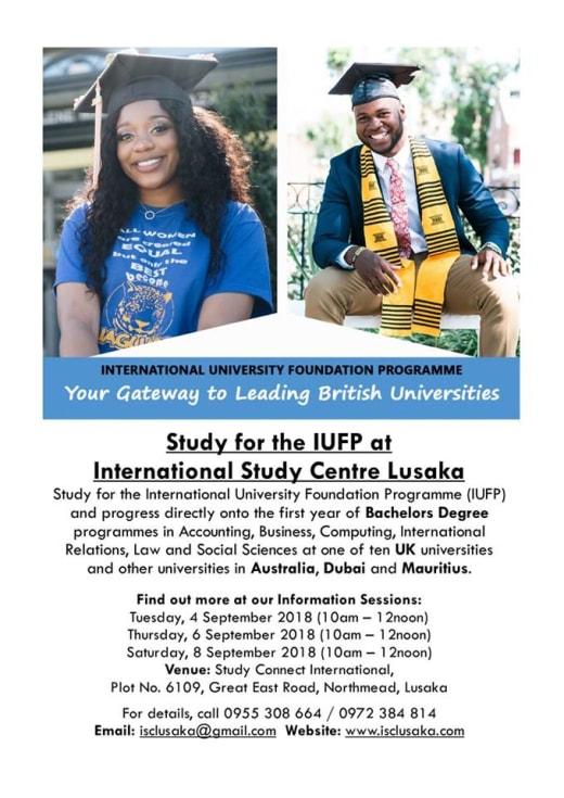 International University Foundation Programme - Information Sessions