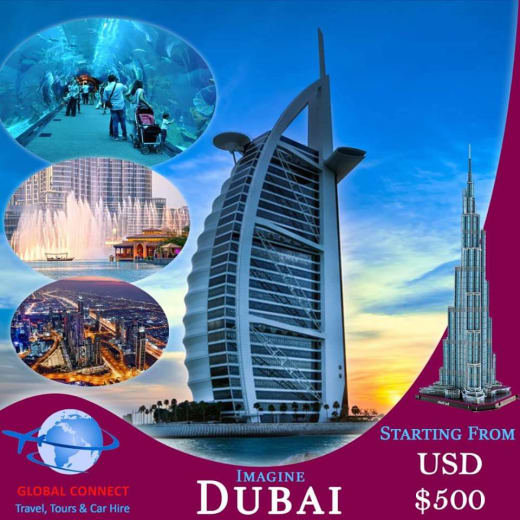 Dubai holidays from USD 500