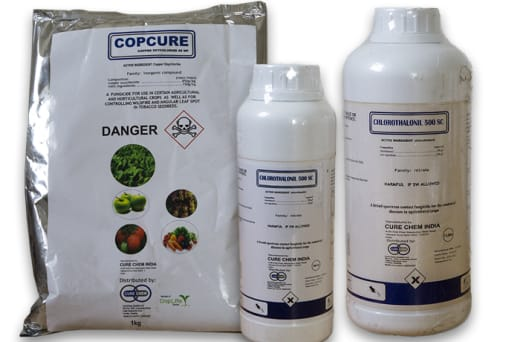 An expansive range of insecticides, fungicides and herbicides