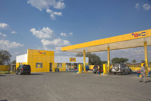 26 filling stations conveniently spread around Zambia