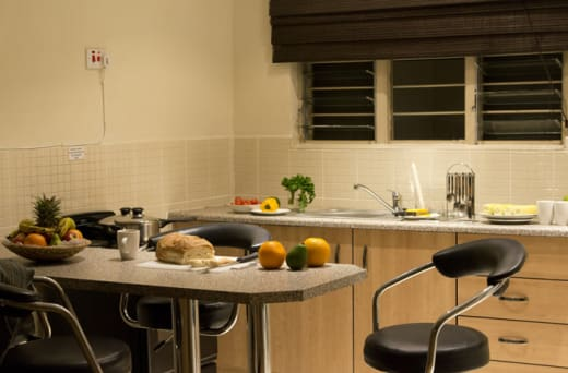 Self-catering facilities available