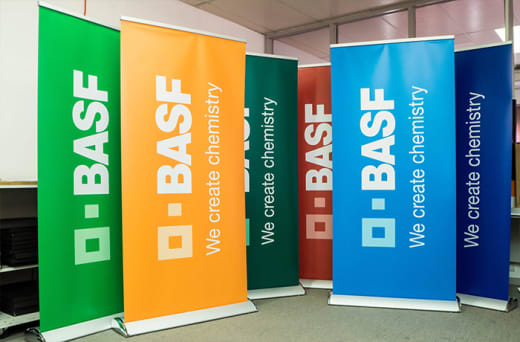 Dynamic, effective and professional signage for businesses