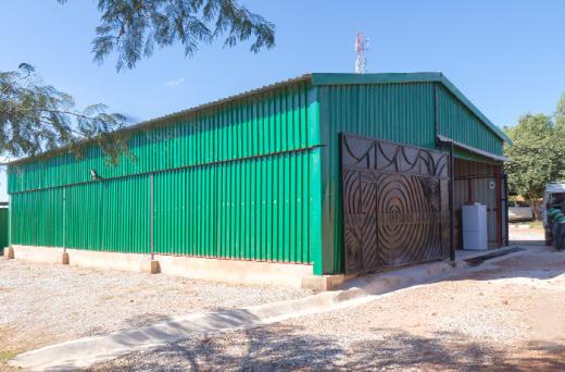 Highly secure vehicle storage facility
