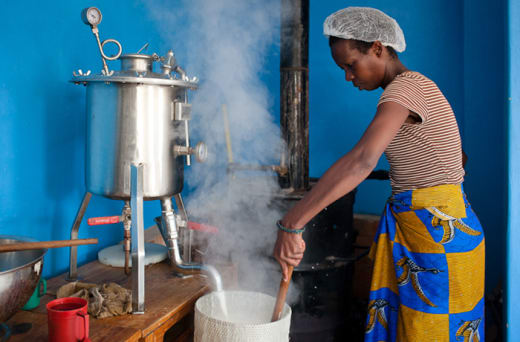 Chikumbuso teach life skills in tailoring and cooking