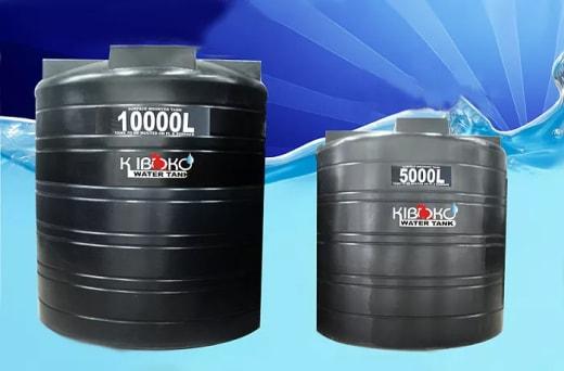 100% FDA-approved Kiboko water tanks