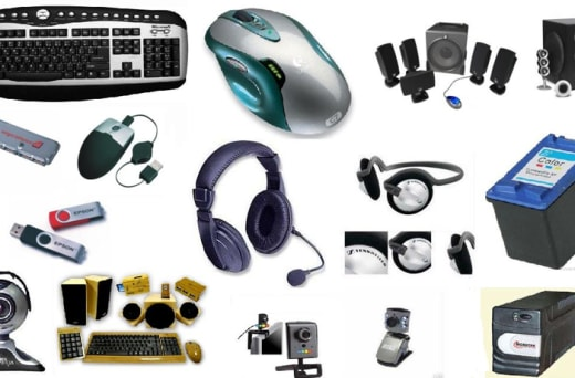 A wide selection of computers and accessories