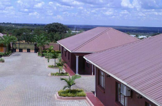 Fallsview Apartments are built on higher ground to offer views of the Victoria Falls