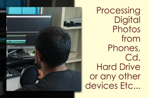 Professional photo processing