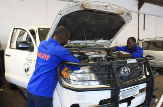 Have your staff and management trained on vehicle care at Baldys