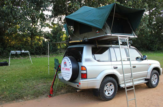 Fully equipped 4x4's available for safari tours