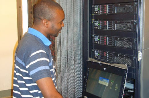 Data recovery/installation of server and maintenance