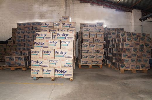 Supplies an extensive range of product brands - from factory to wholesaler and retailer