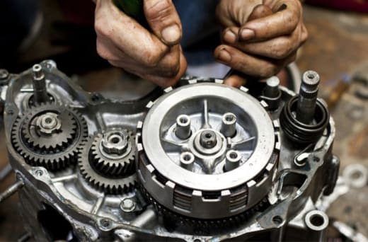 World class motorcycle repair and maintenance services