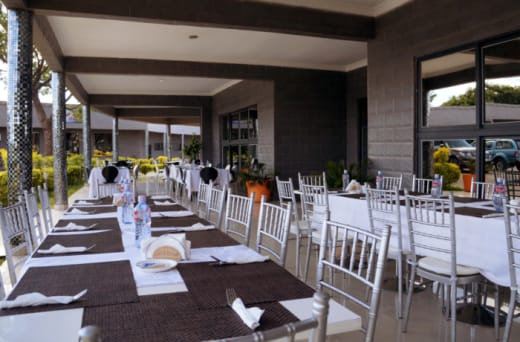 For outdoor events, Mika Convention Centre has a large events arena which can hold up to 14,000 people
