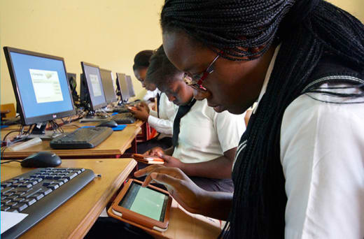 Quality education with access to ICT