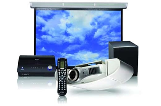 Stocks projectors and high brightness screens