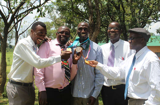 Founders of Zambia's first fully practice-based teacher college