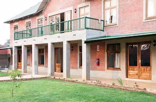 An incredible campus, set on a 50 sq km game reserve