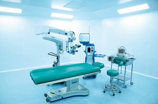 Comprehensive range of hospital equipment and furniture