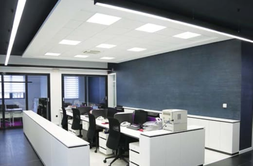 Thinking of improving your work environment? get a ceiling that will brighten up your mood