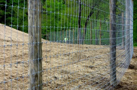 Production of Conforce, Brickforce, game fencing, and hard drawn wire