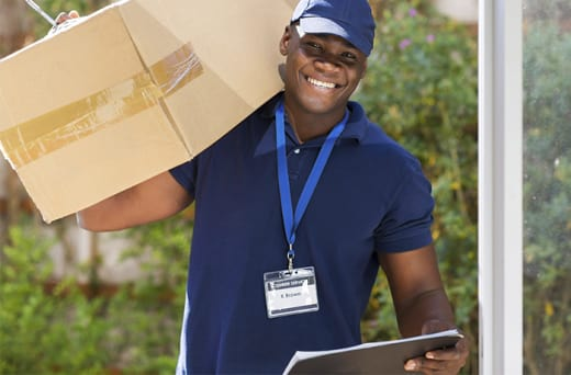 Take advantage of Online Express' delivery service