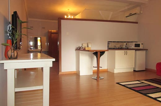 Self-catering kitchenette option