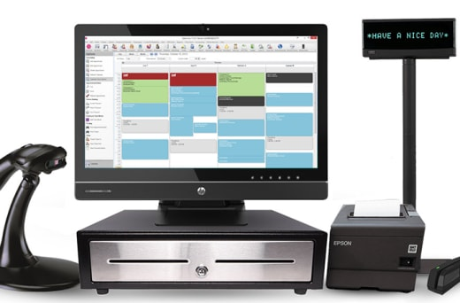 Integrated POS channel