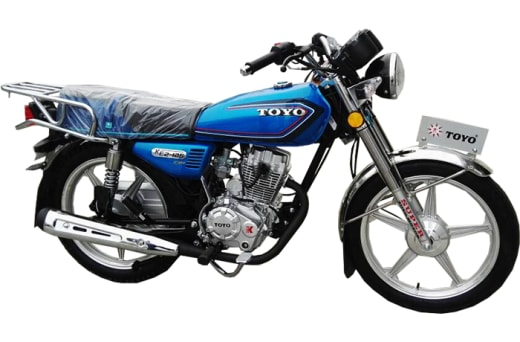 Manufacturer of Toyo motorbikes, related accessories and spares