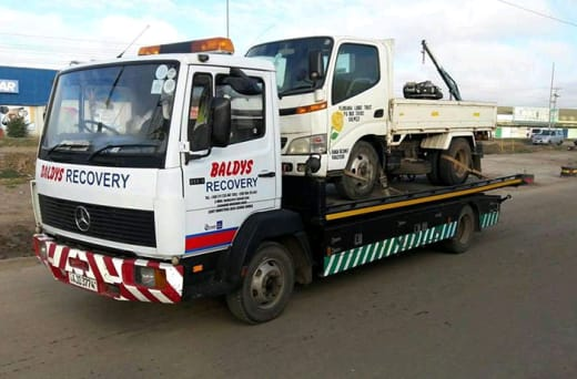 Breakdown recovery, vehicle transportation and storage