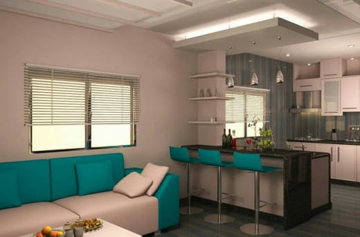 Interiors design solutions for residential and commercial interiors