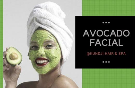 Facials using natural and herbal products
