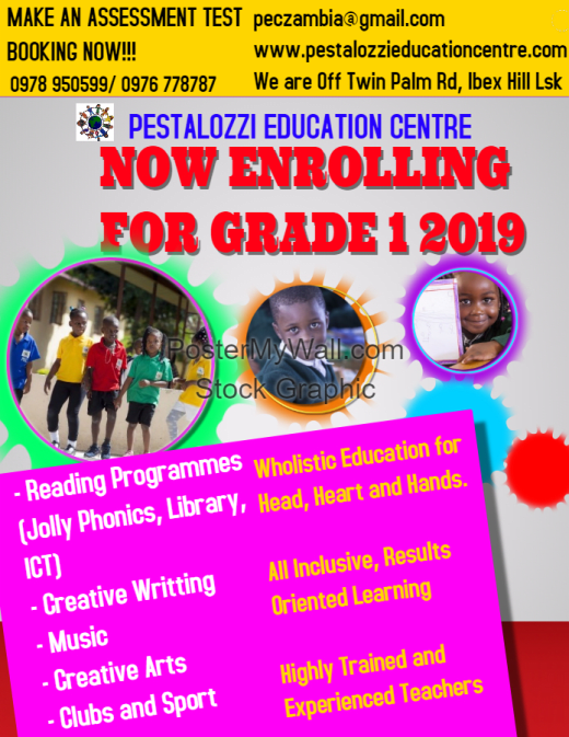 Now enrolling for grade 1 in 2019