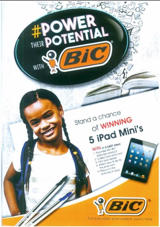 Stand a chance of winning an iPad Mini