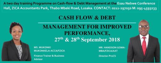 Cash-Flow and Debt Management For Improved Performance - Workshop