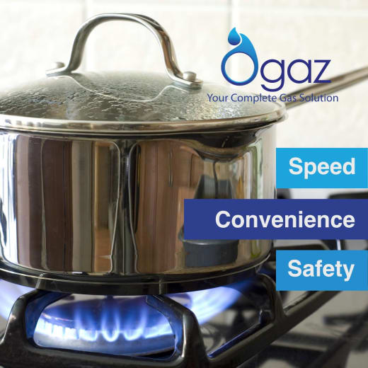LPG in cylinders and refills and delivery service