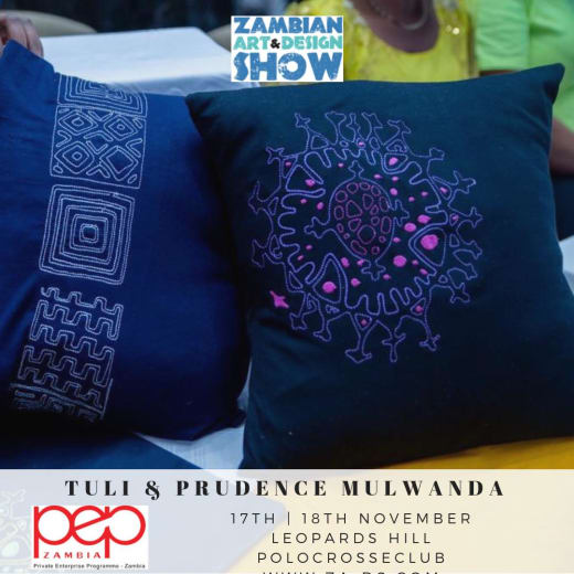 Handmade products with artistic designs at Zads2018