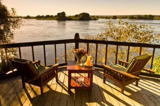 Escape to Livingstone Islands of Siankaba Lodge
