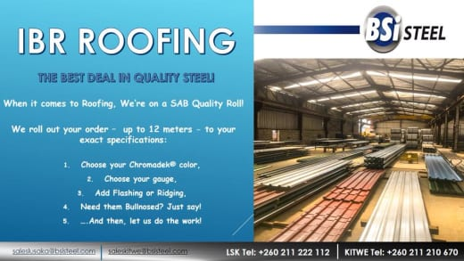 IBR Roofing - up to 12 meters to your exact specifications