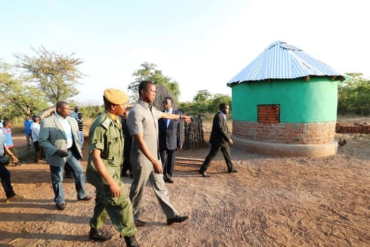 Chamasongwe - Muchenga road works impress President Edgar Lungu