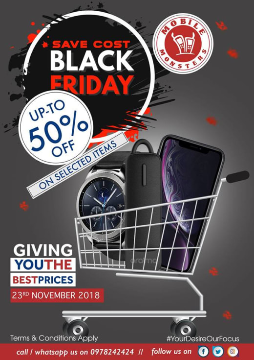 Black Friday deals 2018 - Up to 50% off selected items
